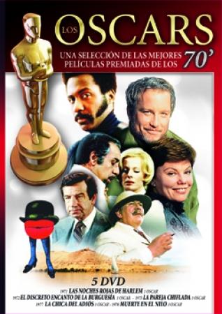 COLECCIÓN OSCAR'S AÑOS 70 (VOL. 5)  (5 DVD)