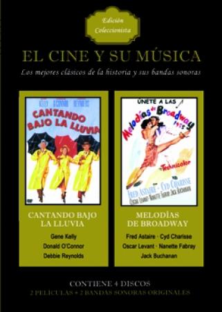 PACK EL CINE Y SU MÚSICA VOL. 1 (4 DISCOS)