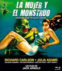 La Mujer y el Monstruo [Blu Ray]
