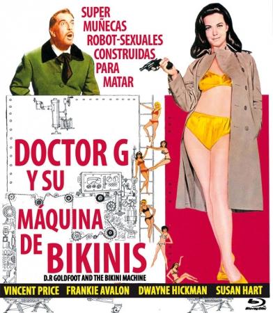 Doctor G y su Fábrica de Bikinis [Blu Ray]