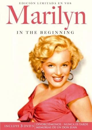 Marilyn en sus comienzos [3 DVD]