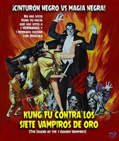 Kung Fu contra los Siete Vampiros de Oro [Blu Ray]