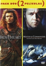 Pack Duo - Braveheart + Master & Commander [DVD]