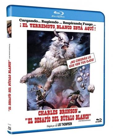 El Desafío del Búfalo Blanco [Blu Ray]