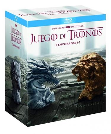 Juego de Tronos (Temporadas 1-7) [Blu Ray]