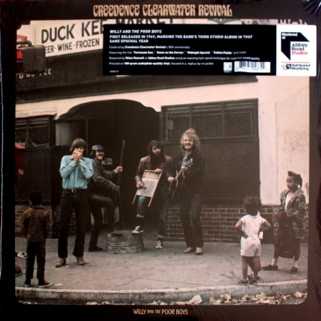 Creedence Clearwater Revival – Willy And The Poor Boys (LP)