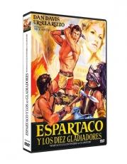 Espartaco y los diez gladiadores [DVD]