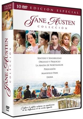 Colección Jane Austen [10 DVD]