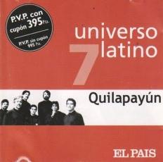 Quilapayún – Universo Latino vol.7 [CD]