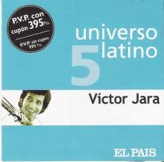 Víctor Jara – Universo Latino vol. 5 [CD]