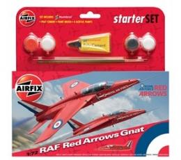 RAF Red Arrows Gnat Starter Set 1:72