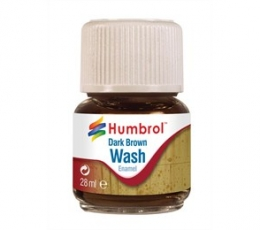 Enamel Wash Dark Brown 28ml