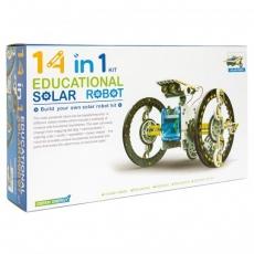 14 EN 1 SOLAR ROBOT