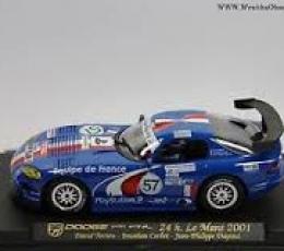 DODGE VIPER GTS R 24 H LEMANS 2001
