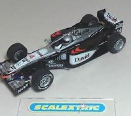MC LAREN MERCEDES F1 DAVID COULTHARD Nº 4 2001