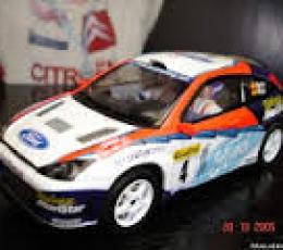 FORD FOCUS WRC Nº4 SAIZ 2002