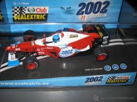 F-1 CLUB SCALEXTRIC EDICION 2002