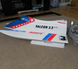 LANCHA FALCON 3.5 THUNDER TIGER