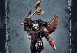 BLOOD ANGEL CHAPLAIN