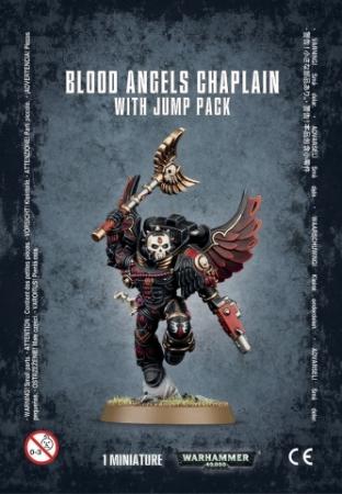 BLOOD ANGEL CHAPLAIN