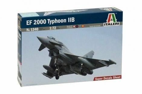EF 2000 TYPHOON IIB 1/72