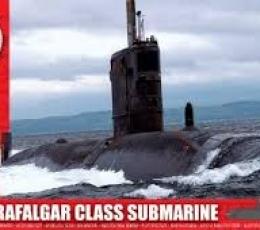 SUBMARINO CLASE TRAFALGAR 1/350