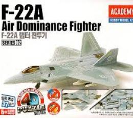 PUZZLE 4D F- 22A