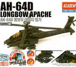 PUZZLE 4D AH-64D LONGBOW APACHE