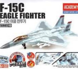 PUZZLE 4D F- 15C EAGLE FIGHTER