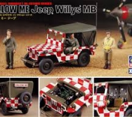 JEEP WILLYS FOLLOW ME 1/48