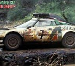 LANCIA STRATOS HF 1977 SAFARI 1/24