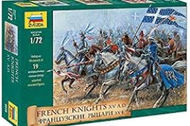 FRENCH KNI XV A.D 1/72
