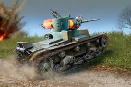 SOVIET T-26 TANK 1836 1/35