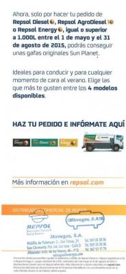 """CAMPAÑA REPSOL-MONEGAS: GAFAS """"SUN PLANET"""""""