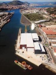 Finalizan las obras de aumento de calado y refuerzo del Muelle de Axpe