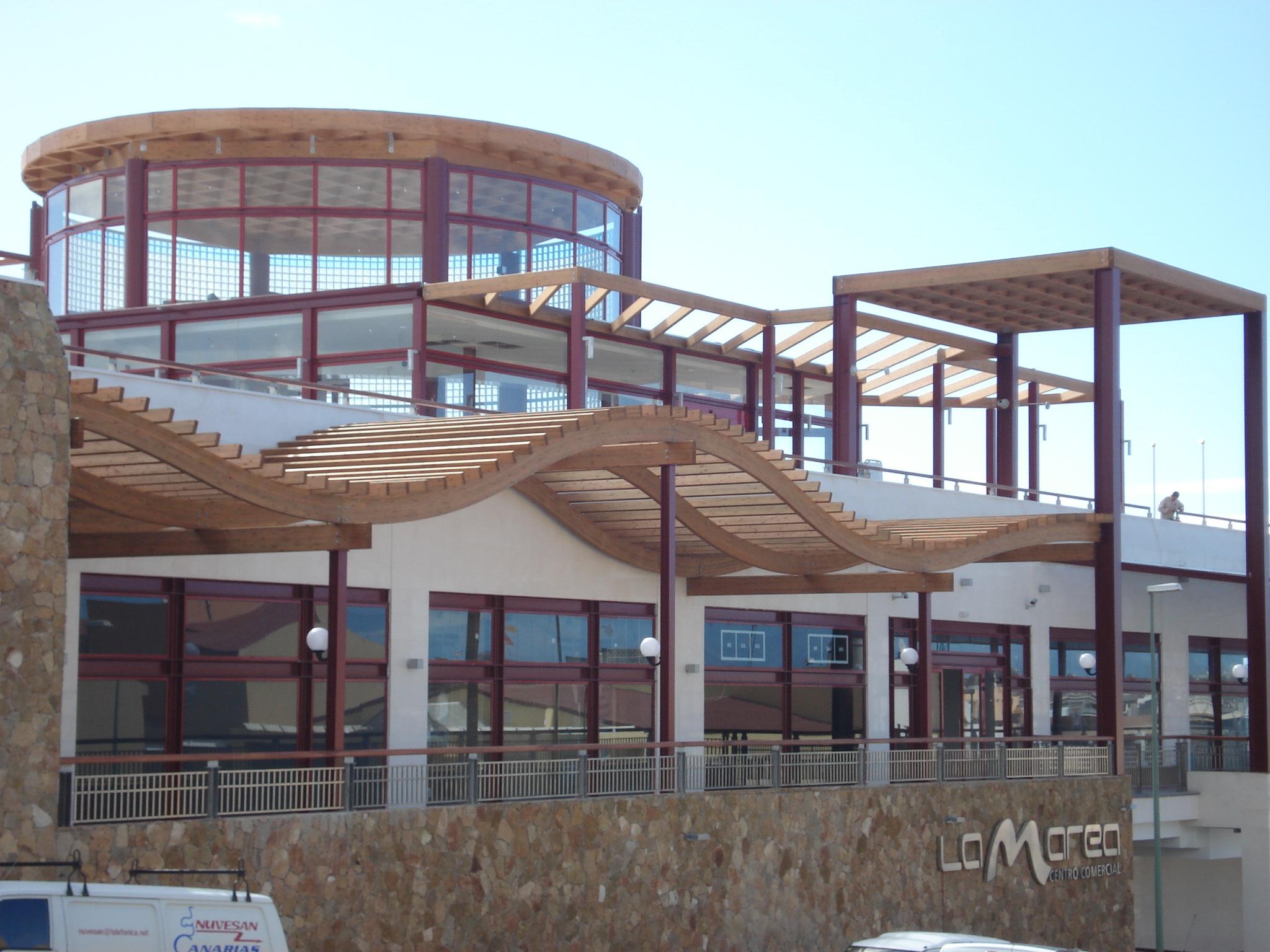Fotos estructuras madera canarias tenerife y gran canaria - Casas de madera gran canaria ...