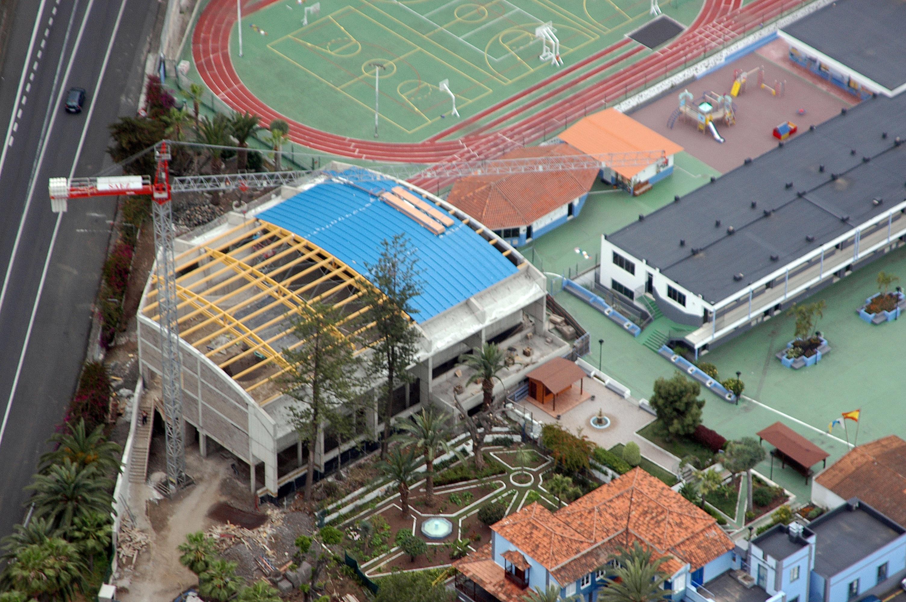 Fotos estructuras madera canarias tenerife y gran canaria - Colegio aparejadores tenerife ...