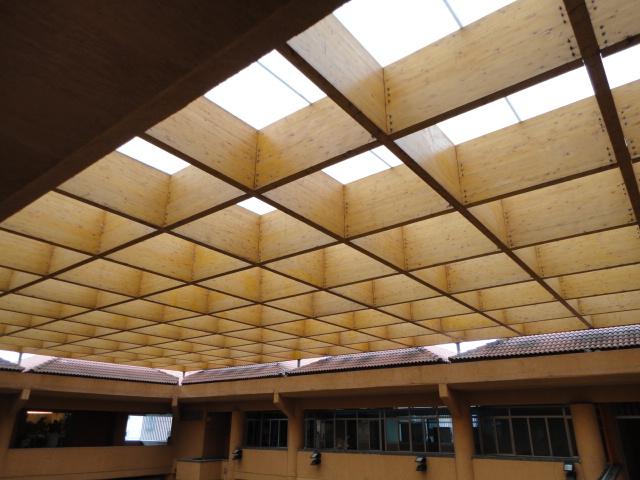 Centros comerciales estructuras y tableros de madera en canarias - Constructoras tenerife ...