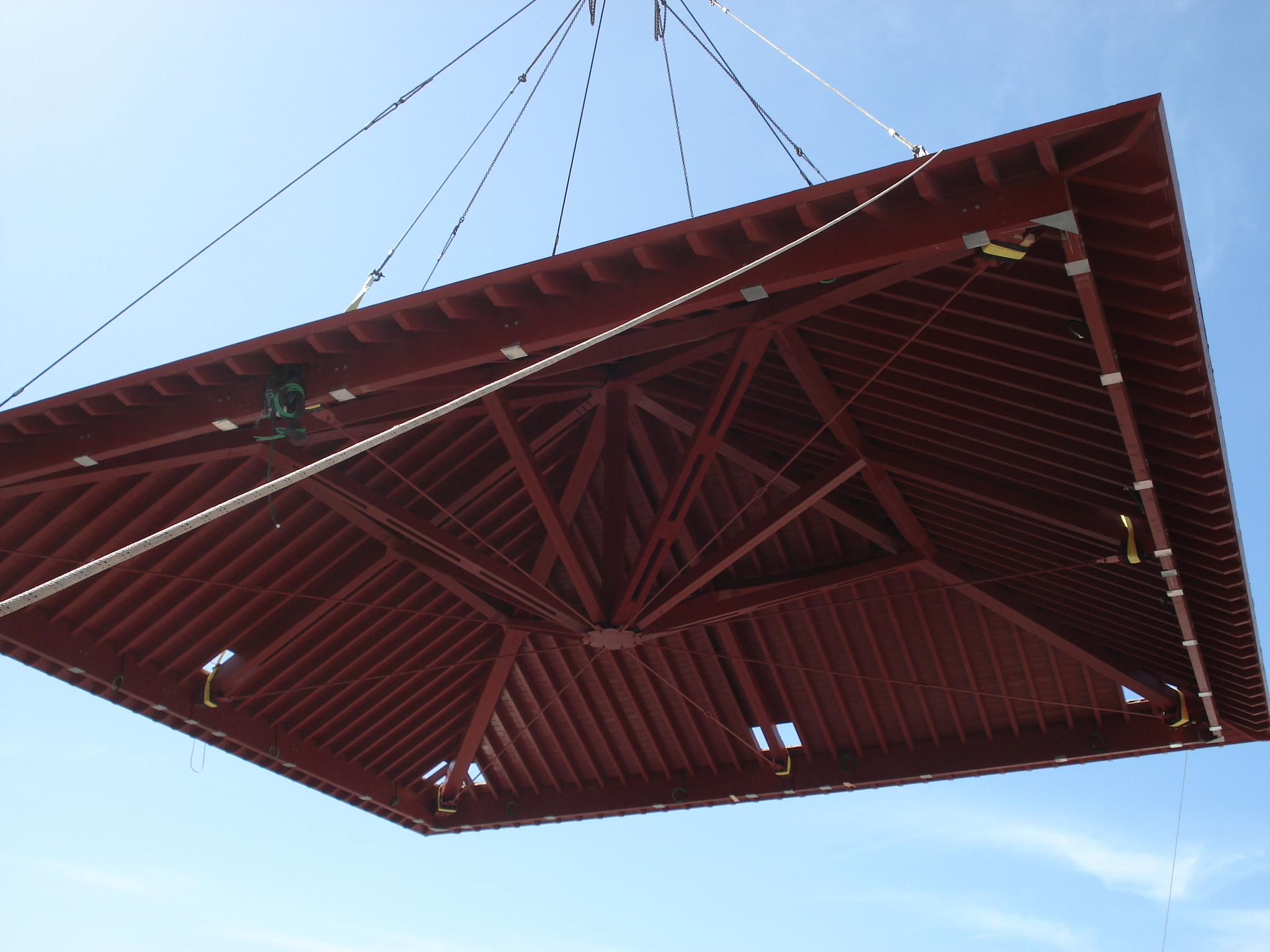 Espacios culturales o sociales estructuras y tableros de madera en canarias - Constructoras tenerife ...