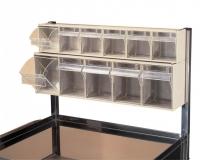 Soporte con cajas basculantes cod. 10182-7