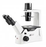 Microscopio biologico invertido cod. AE-2000 binocular
