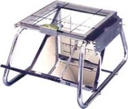 Podogoscopio de estructura acero cromado