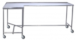 Mesa para instrumental modelo escuadra