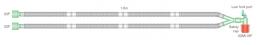 Circuitos respiratorios circulares de 15 mm.