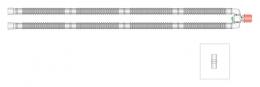 Circuito respiratoria circular Flextube