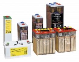 Baterías para placa Solar y Eolica