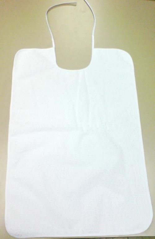 Babero tejido toalla 45*70 blanco
