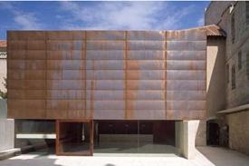 terrazo continuo museo sala exposiciones