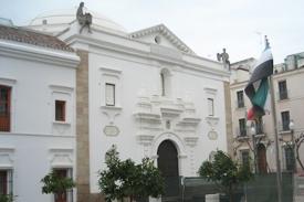 terrazo edificio administrativo