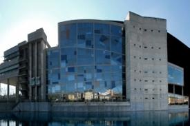 terrazo insitu palacio congresos vidrio